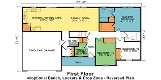 Madison Residences Floor Plan by Madison Fine Line Homes