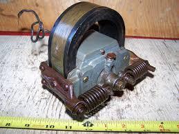 old webster k hit miss gas engine magneto ignitor oiler steam