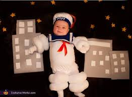 Stay Puft Marshmallow Man Costume Cutest Stay Puft Marshmallow Man Baby Costume Photo 2 2