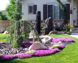 Front Yard Landscaping Ideas On A Budget Decor Beautiful Small Low Budget And Captivating Front Yard
