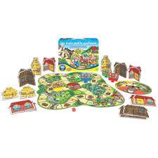 jeu de société les trois petits cochons orchard toys jeux de