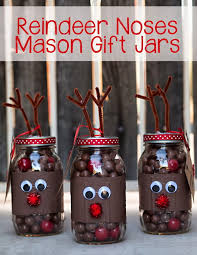 Diy Mason Jar Christmas Decorations by Creative Reindeer Inspired Crafts U0026 Decorations For Christmas 2017