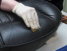 How To Fix Scratched Leather Sofa How To Repair Scuffs U0026 Scratches On Leather Furniture Clinic