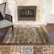 How To Make A Faux Fur Rug Faux Fur Rugs U0026 Area Rugs For Less Overstock Com