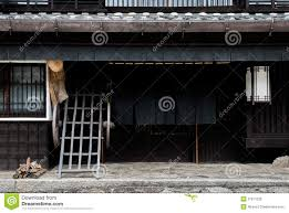 traditional japanese house royalty free stock image image 27911226