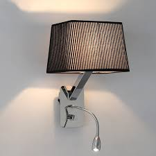 Led Wall Sconces Indoor Indoor Flexible Mechanical Arm Wall Lamp Bedside Reading Light