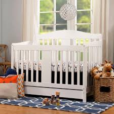 Convertible Cribs With Toddler Rail by Davinci Richmond 4 In 1 Convertible Crib With Toddler Rail