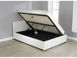Ottoman Storage Bed Inspiring White Ottoman Bed Ottoman Storage Gas Lift Bed