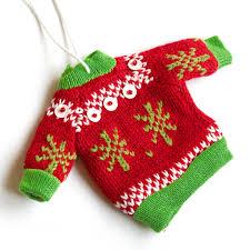ornament sweater home decorating interior design