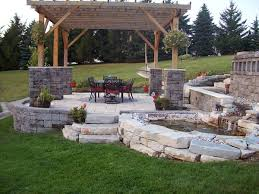 Landscaping For Backyard Backyard Patio Deck Ideas With Backyard Ideas Simple Small