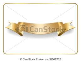 gold satin ribbon gold satin ribbon on white gold satin empty ribbon golden