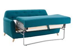 le meilleur canapé lit petit canapé lit meilleur de canape convertible 3 places tissu bleu