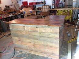 l shaped barn wood bar my projects pinterest wood bars barn