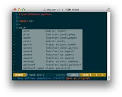 jedi vim pattern not found vim as a python ide michigan software labs