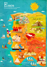 Map Westeros Stylized Game Of Thrones Maps Make Westeros And Essos Look Like