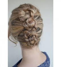 chignon tressã mariage les 45 meilleures images du tableau idées coiffures sur