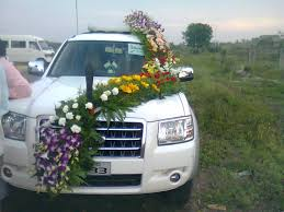 indian wedding car decoration wedding car decoration 32 flowers delivery gurgaon