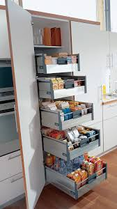 blum tandembox larder unit the wide pantry unit is equipped with