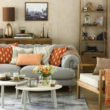 great schemes with mix and match living room chairs neutral