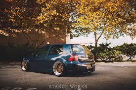 volkswagen gli stance the long way around mike houck u0027s awd turbo diesel mkiv vw gti