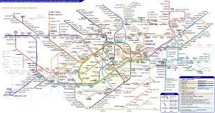 map of the underground in file underground overground dlr crossrail map svg