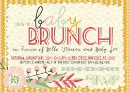 Baby Invitation Card Design Wedding Brunch Invitation Card Design Ideas Lovely Pink Themed