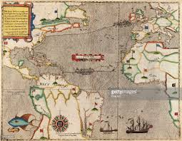 Map West Africa by Map Of Entire Route Of Francis Drake U0027s West Indian Voyage By