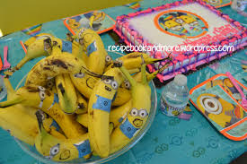 minions party ideas food fam crafts