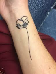 tattoo ideas birthdays poppy flower tattoo for august birthdays ink inspiration