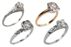 new rings style images New designs of antique engagement rings 2015 jpeg