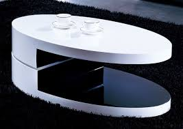 25 elegant oval coffee table designs made of glass and wood dolf