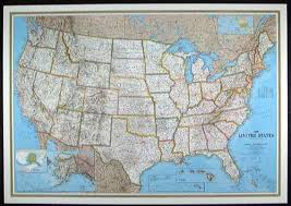 us map globe us national geographic political small map laminated htm free
