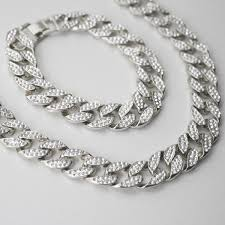 gold bracelet chains images Iced out cuban chain and bracelet gold white gold thegiftedfew jpg