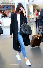 kendall jenner casual casual chic combing kendall jenner verge magazine
