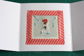 diy how to cross stitch your own cards fashion