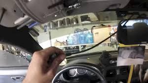 installing a 7 u0027 u0027 rear view mirror lcd w backup camera youtube