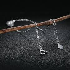 silver leaf bracelet images Sterling silver leaf bracelet with freshwater pearl zen vibes jpg