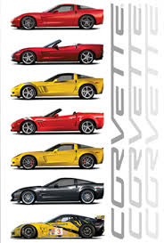 corvette poster three brand c6 corvette posters just added to the inventory