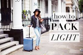 how to travel images How to pack light for travel jpg