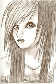 Emo Hairstyles Drawings by Emo Drawing U2013 Ptcome Com