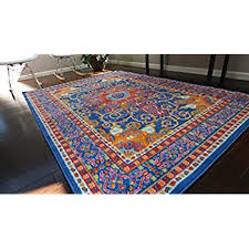 Red White And Blue Rugs Amazon Com Generations Pre8023lightblue 6x8 Oriental Traditional