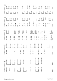 chinese new year greeting numbered musical notation preview 3