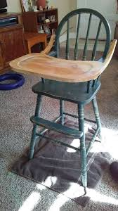 Antique Wooden High Chair Edited How Do I Seal The Tray On A Wooden High Chair Hometalk