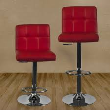 contemporary red bar stools adjust get comfortable contemporary
