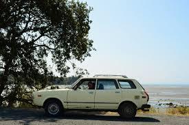 subaru leone wagon old parked cars 1979 subaru dl 4wd wagon