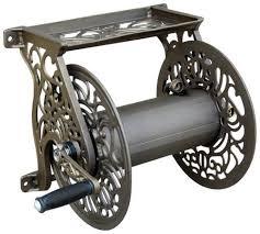 garden hose reel decorative iron blog