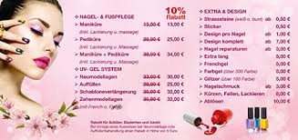 flyer design preise t t nails salon nagelsudio in münster