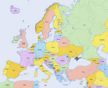 europe map by country demographics of europe
