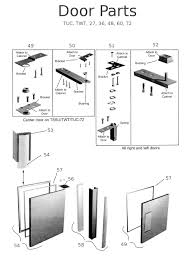 Kitchen Cabinets Parts And Accessories Parts Of A Cabinet Door Nrtradiant Com