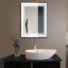 bathroom lighted mirrors ebay